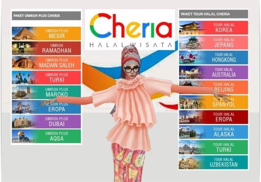 pilihan paket cheria